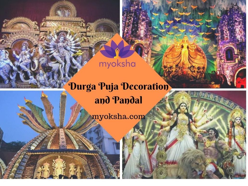 Durga Puja Decoration and Pandal