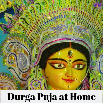 Durga Puja at Home