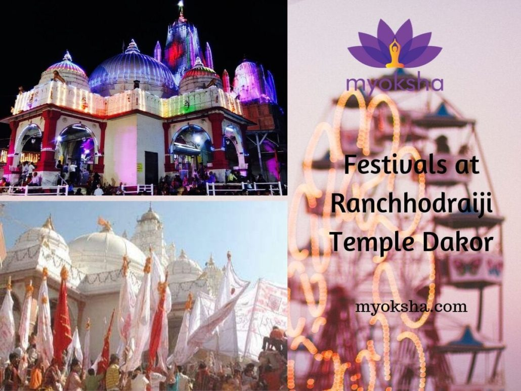 Festivals at Ranchhodraiji Temple Dakor