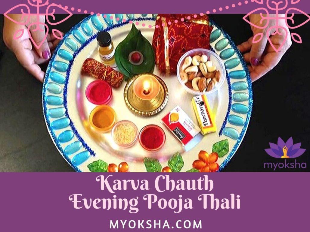 Karva Chauth - Evening Pooja Goddess Parvati