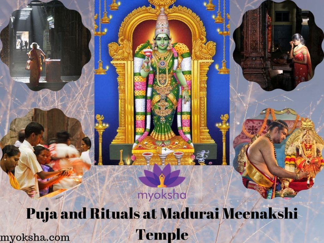 Puja and Rituals of Madurai Meenakshi Temple
