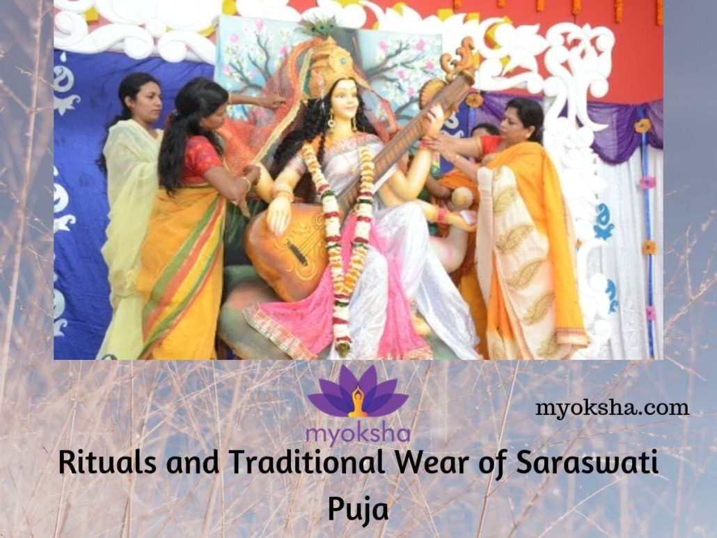 Rituals and Traditional Wear of Saraswati Puja