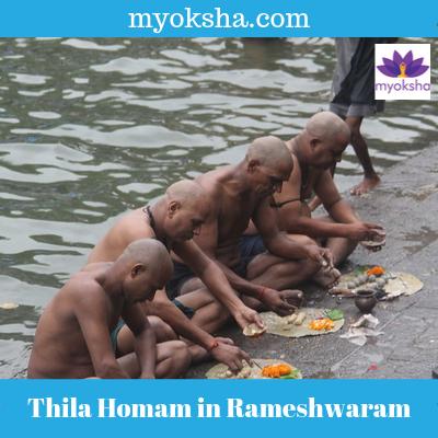 Thila Homam in Rameshwaram