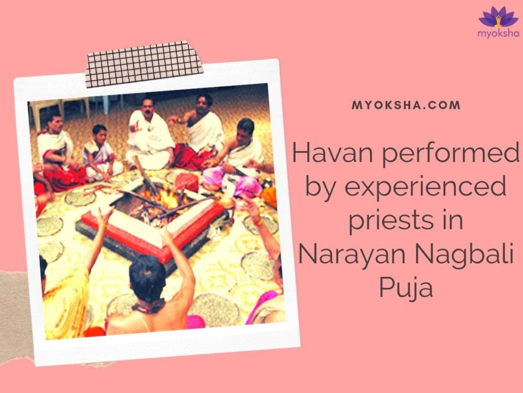 Narayan Nagbali Puja Procedure - Havan