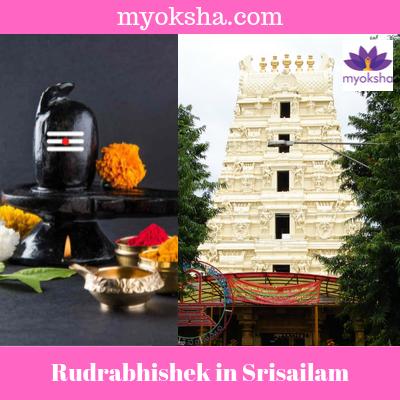 Rudrabhishek in Srisailam Jyotirlinga