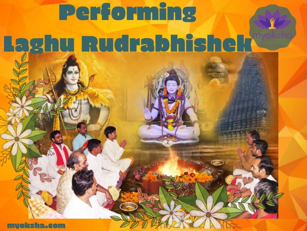 Who should perform Laghu Rudrabhishek