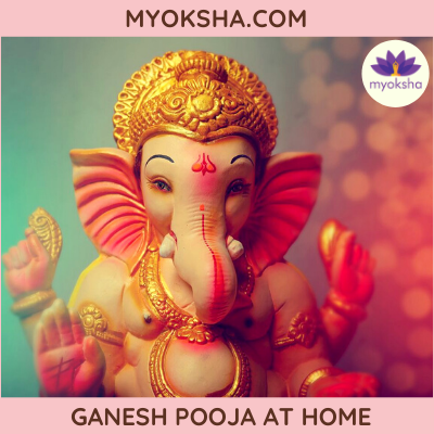 Ganesh Pooja at Home