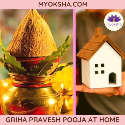 Griha Pravesh Pooja at Home
