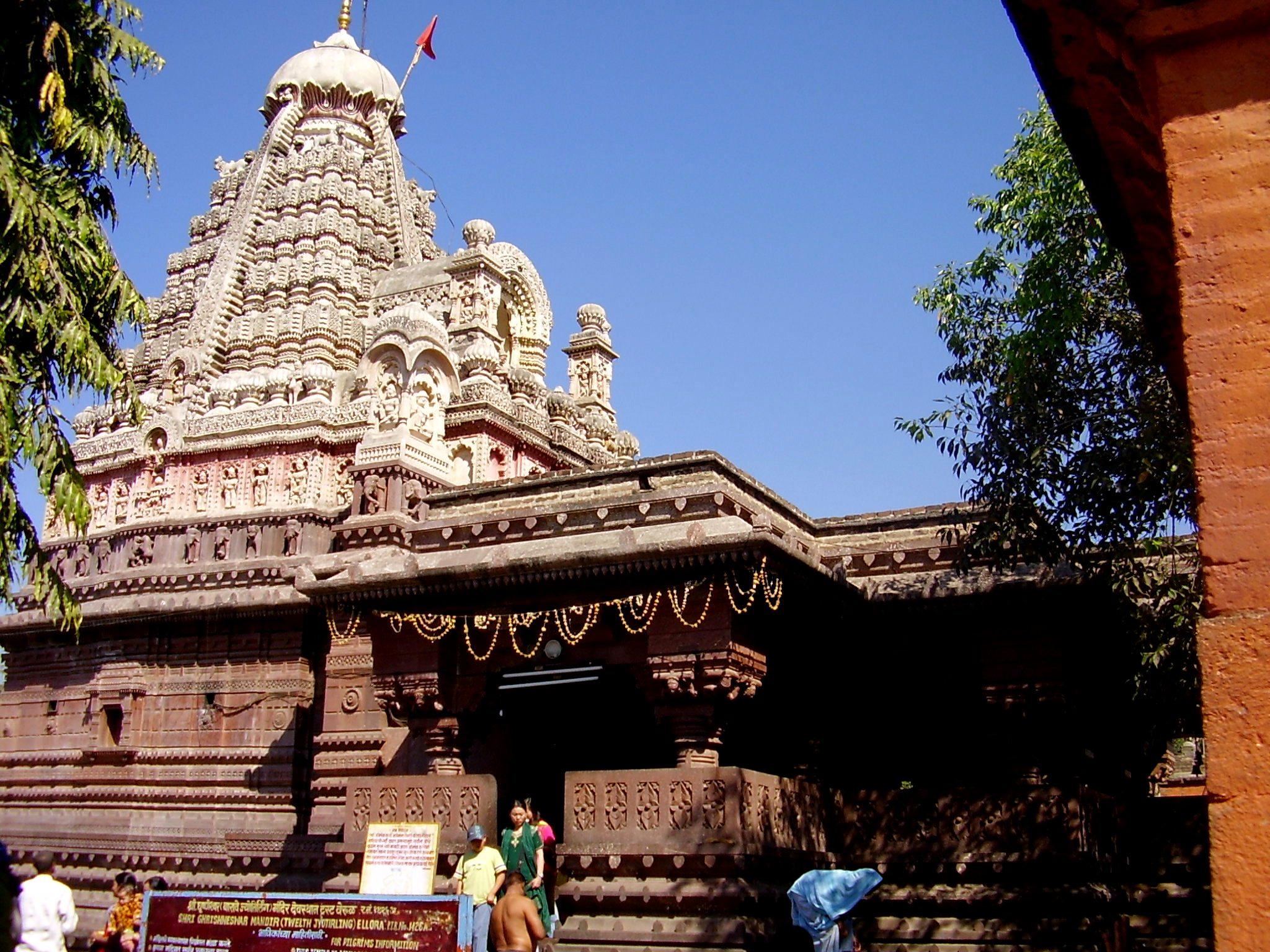 Grishneshwar Temple Auranagabad