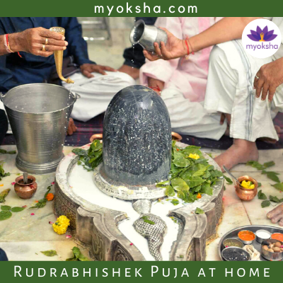 Rudrabhishek Puja at home