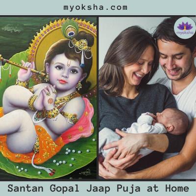 Santan Gopal Jaap Puja at Home