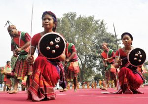 Assam Tribal Dance