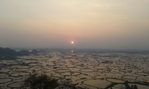 Sunrise at Loktak Lake Manipur