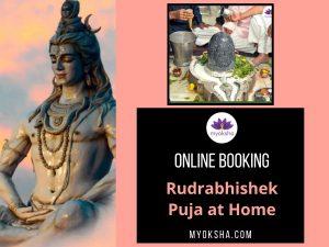 Rudrabhishek Puja at your Home - Book Online at Myoksha